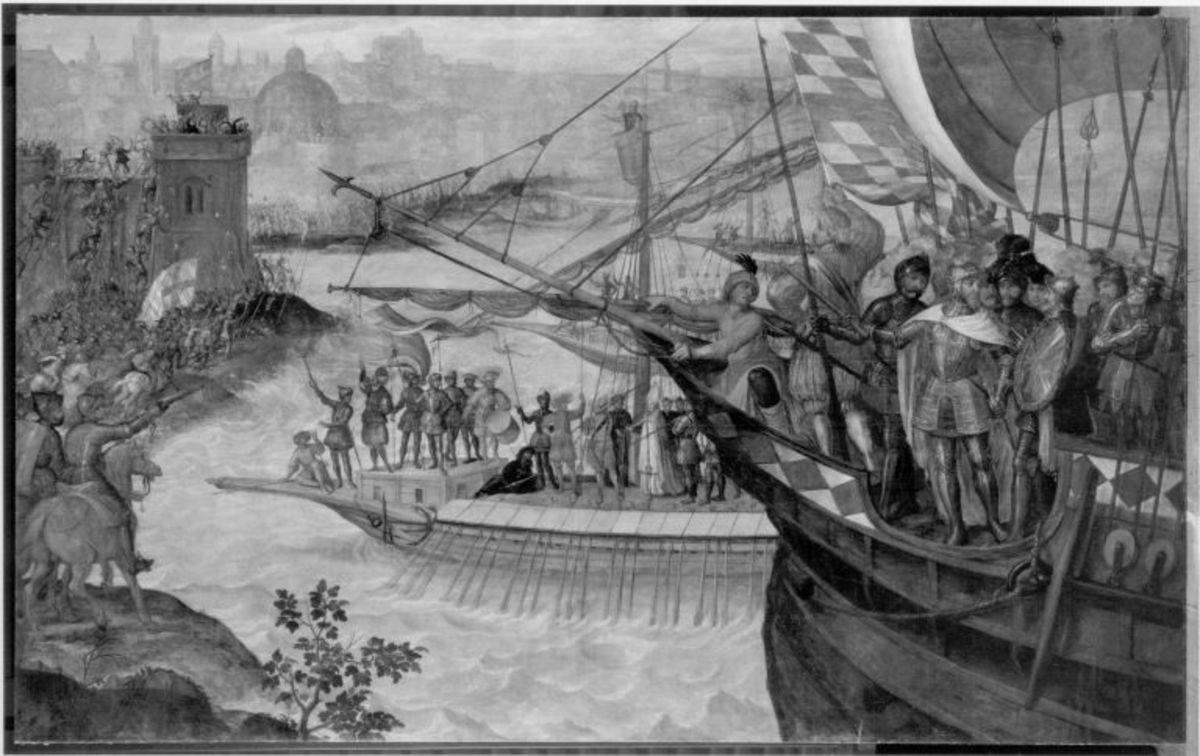 Herzog Ludwig I. von Bayern zieht in den Kreuzzug 1222