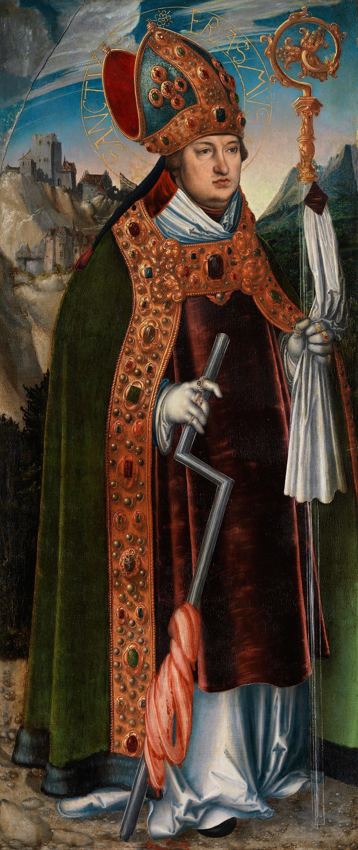 Pfirtscher Altar: Hl. Erasmus