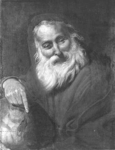 Der lachende Philosoph (Demokrit)
