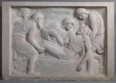 Abguss der Grablegung Christi