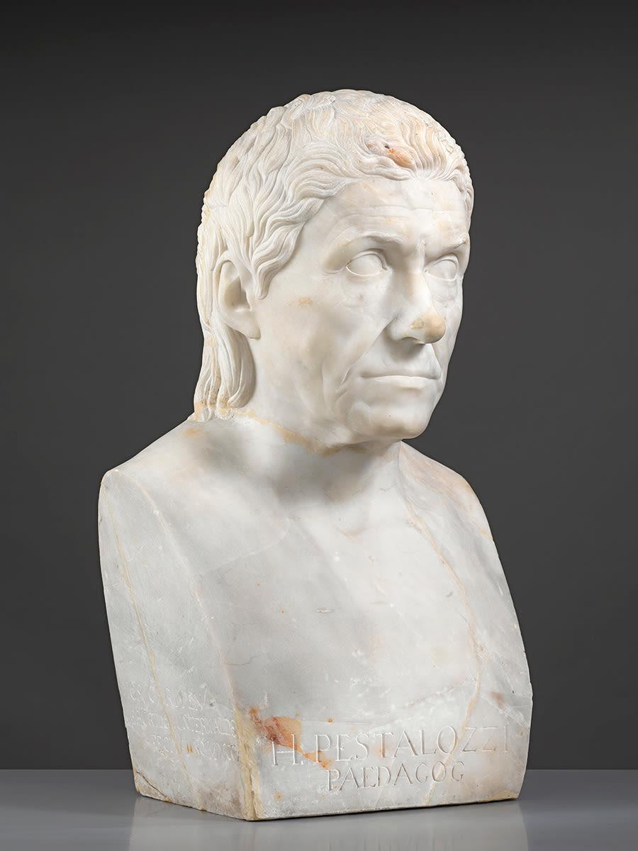 Der Pädagoge und Sozialreformer Johann Heinrich Pestalozzi (1746 - 1827)