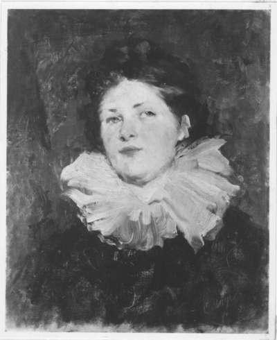 Bildnis eines jungen Mädchens (Damenbildnis mit Halskrause)