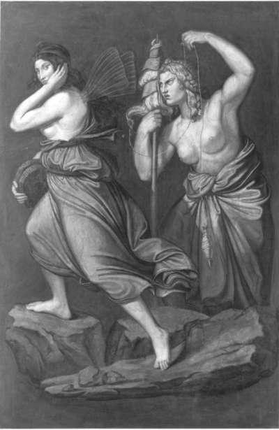 Das Märchen von Amor und Psyche: Psyche und die Parze