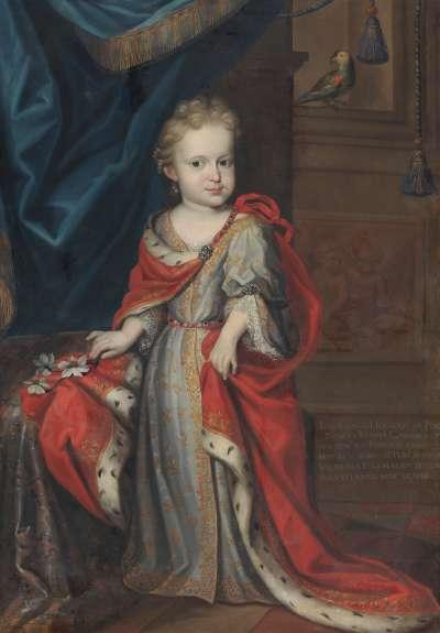Kinderbildnis der Prinzessin Maria Casimira von Polen