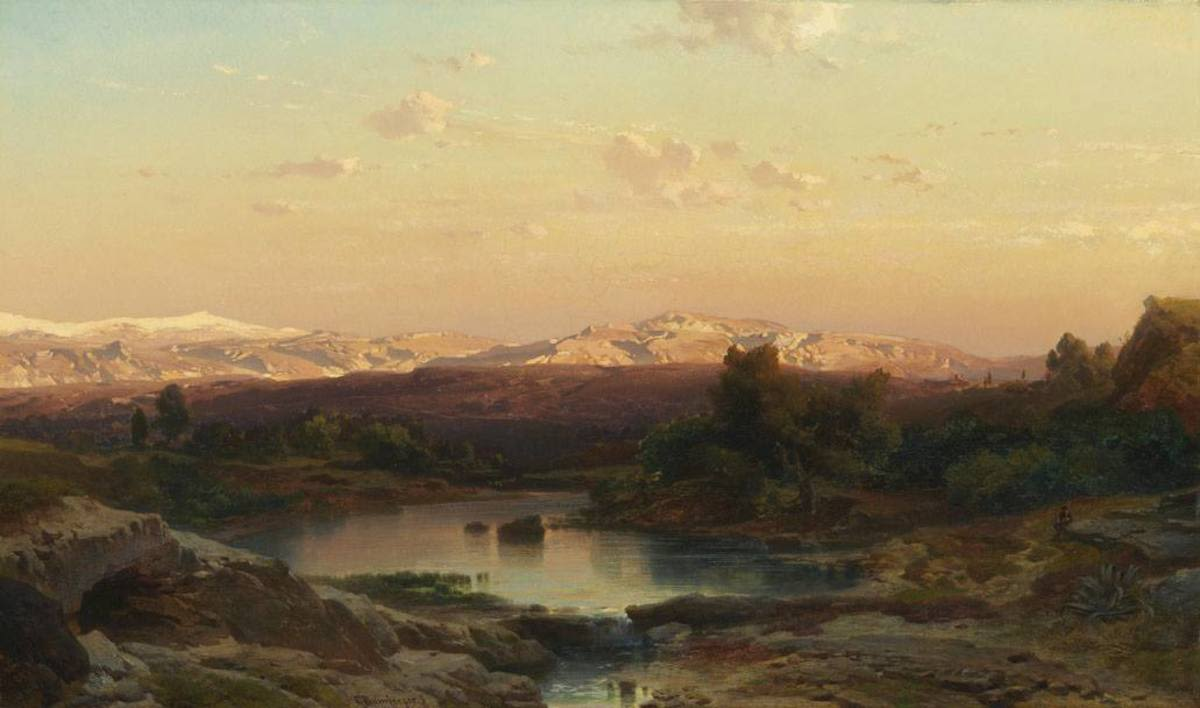 Ansicht der Sierra Nevada