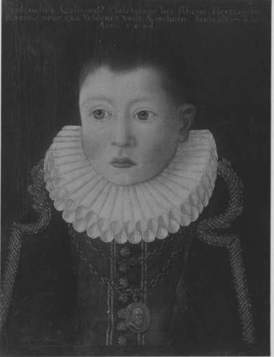 Bildnis des Friedrich Kasimir, Pfalzgraf von Zweibrücken, als Kind von 5 Jahren (1585-1645)