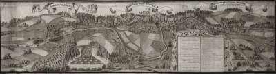 Historische Ansicht des Nürnberger Gebiets