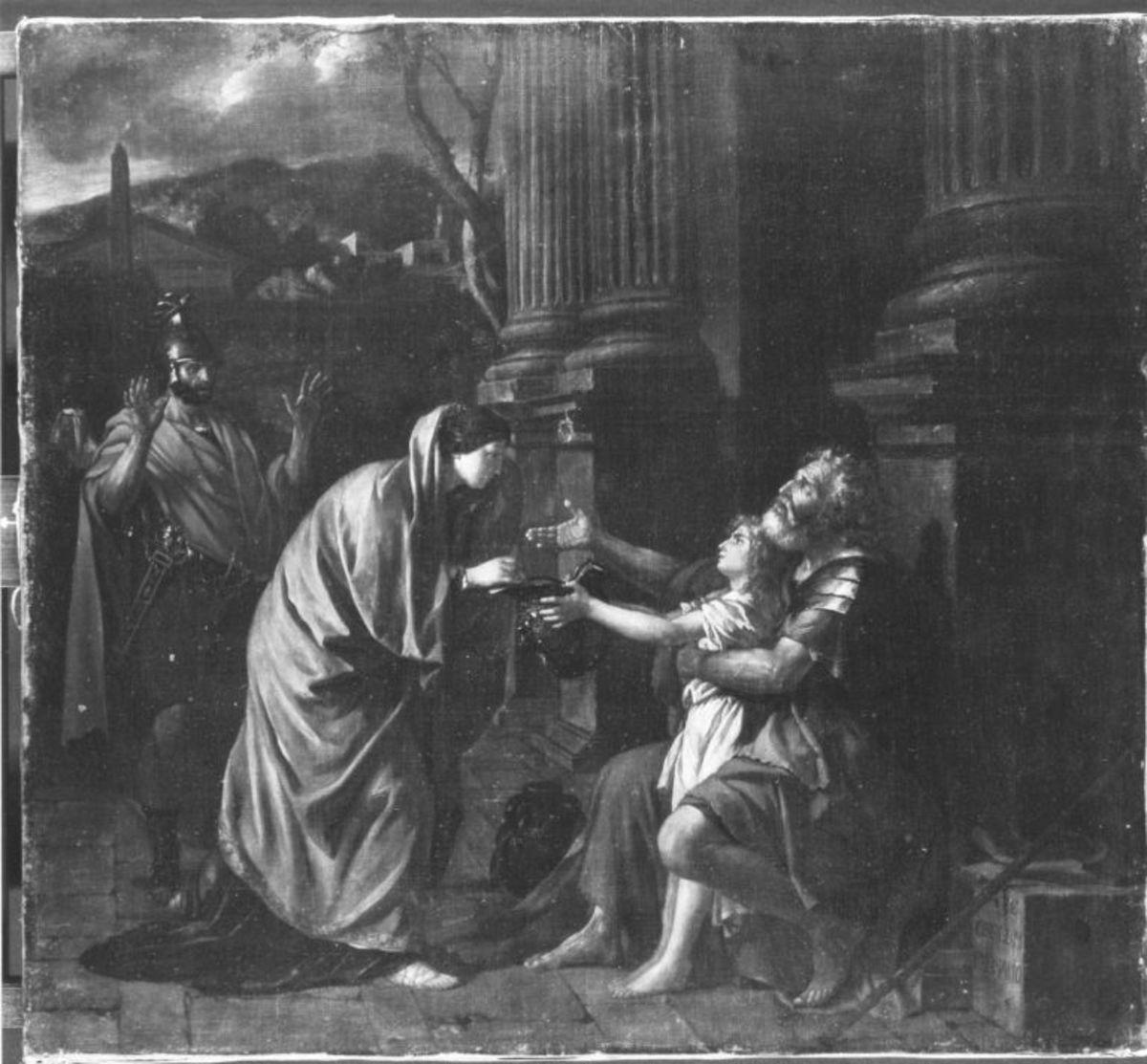 Belisar (nach Jacques-Louis David)