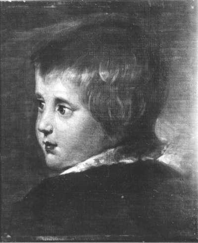 Langers Sohn Robert als Kind