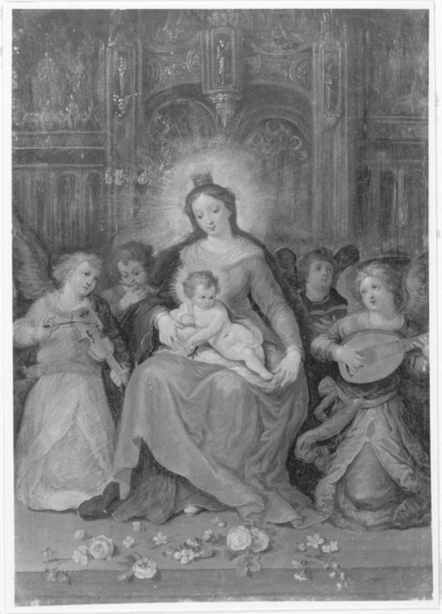 Madonna mit musizierenden Engeln