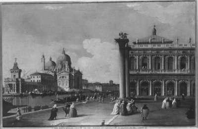 Südteil der Piazzetta mit der Biblioteca Marciana und Canale Grande