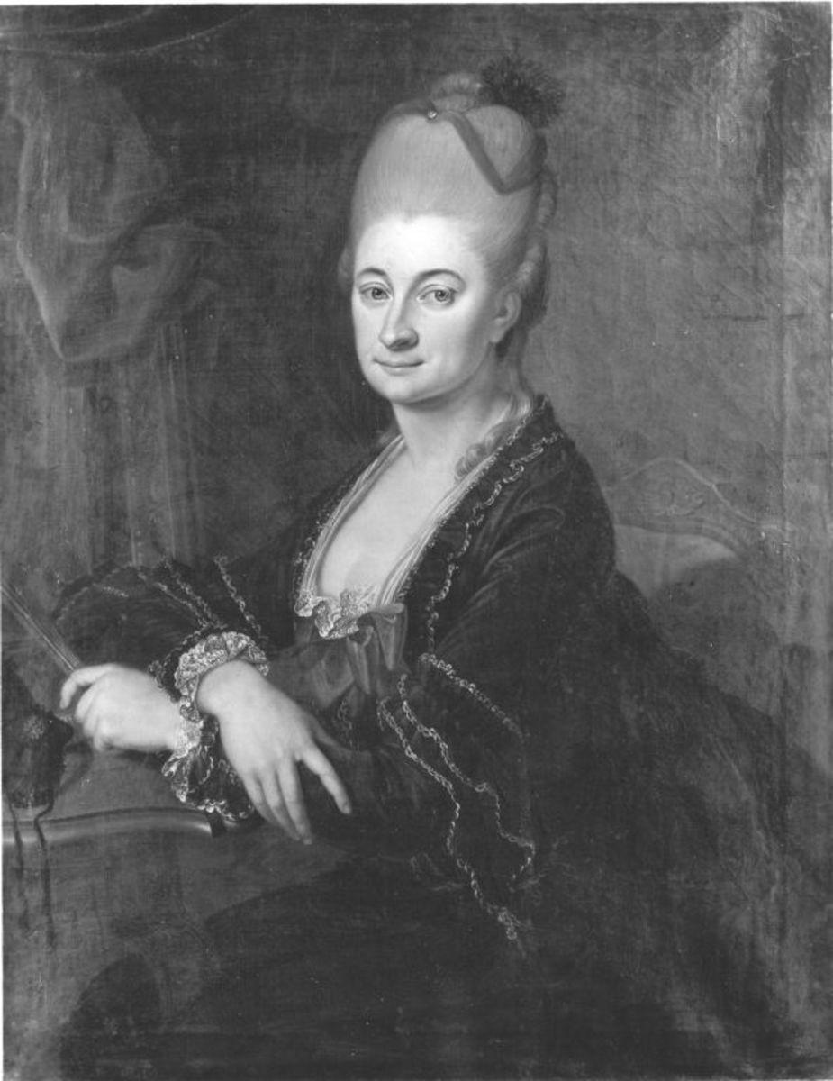 Bildnis der Maria Amalie Auguste, Kurfürstin von Sachsen (1752-1828)