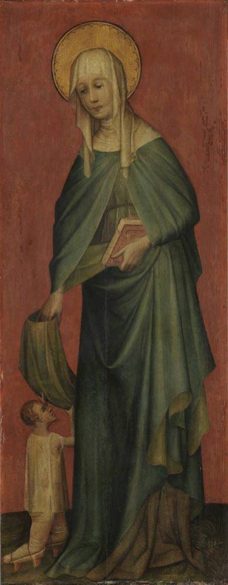 Hl. Elisabeth mit Bettler