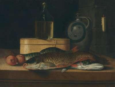 Stillleben mit Fischen