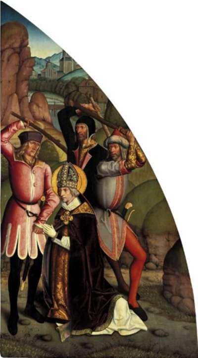 Valentins-Tafeln: Martyrium des hl. Valentin