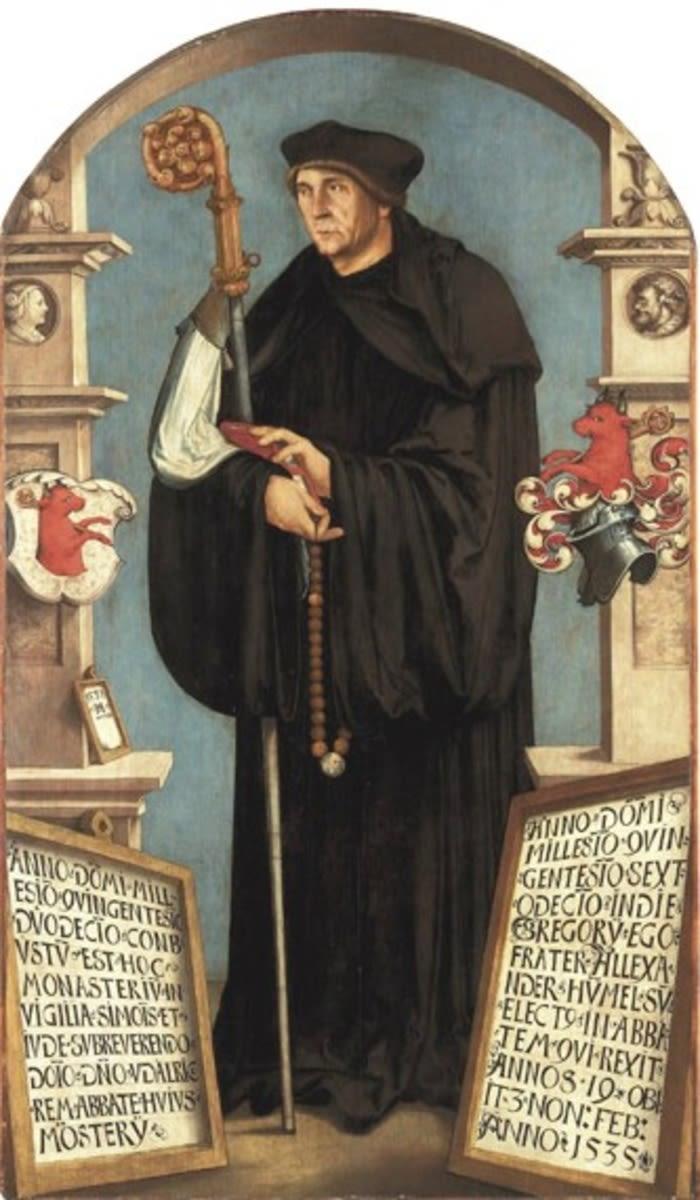 Abt Alexander Hummel von Deggingen