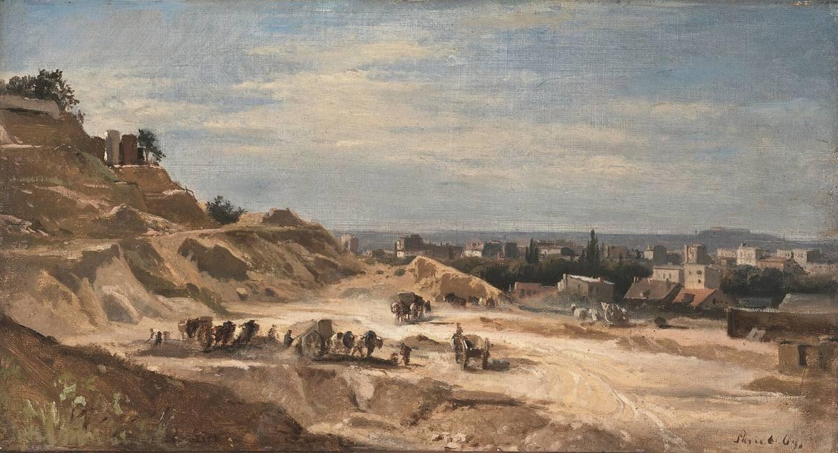 Steinbruch bei Paris
