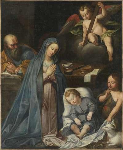 Heilige Familie mit Johannesknaben