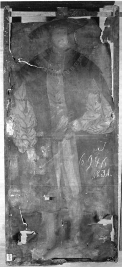 Bildnis eines Fürsten (König Ludwig II. von Ungarn?)