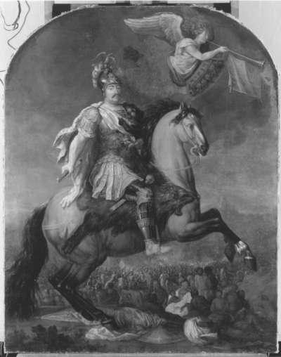Reiterbildnis des Königs Jan III. Sobieski von Polen