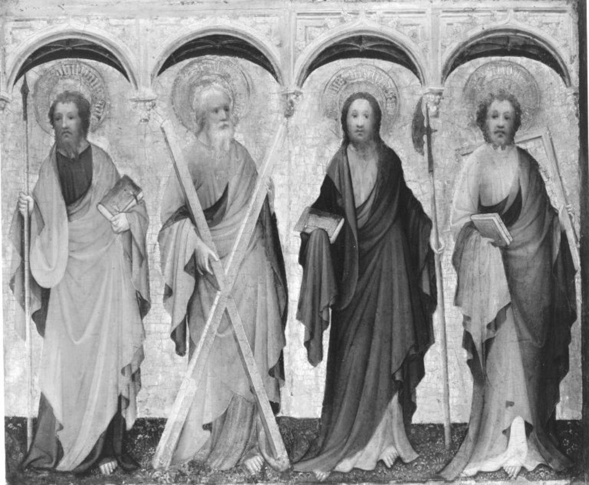 Apostel Philippus, Andreas, Matthias, Thomas
