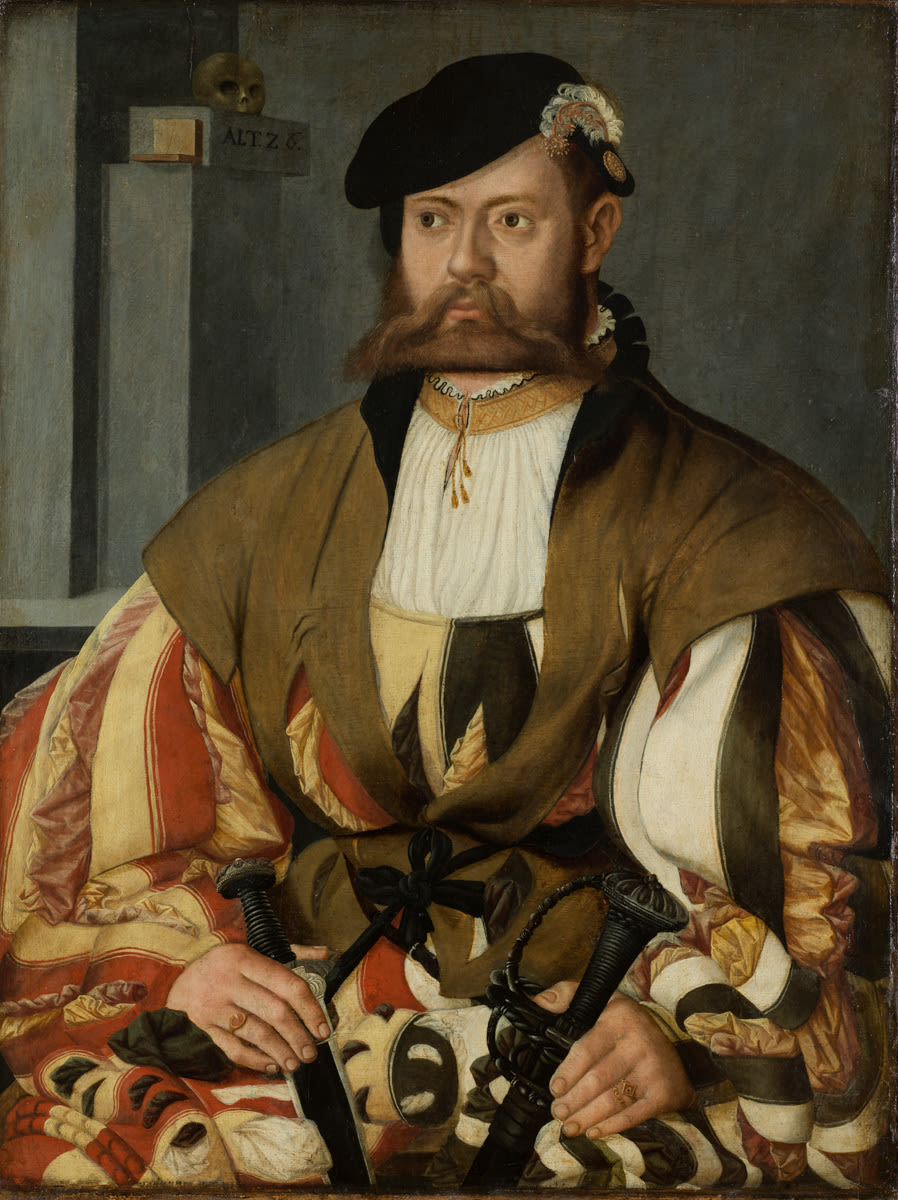 Bildnis eines ritterlich gekleideten Mannes