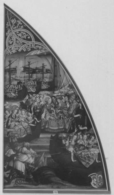 Basilika Santa Croce, rechte Tafel: Legende der hl. Ursula