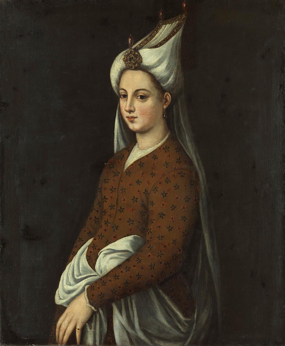 Bildnis einer Türkin