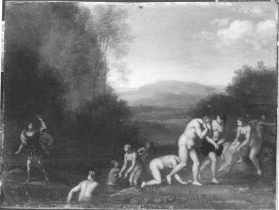 Diana im Bade und Aktäon