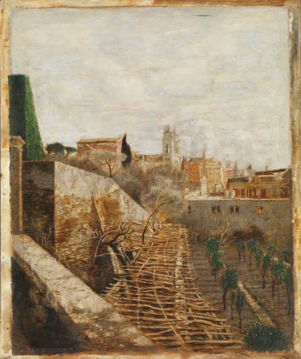 Rom (Trinità dei Monti vom Pincio aus)