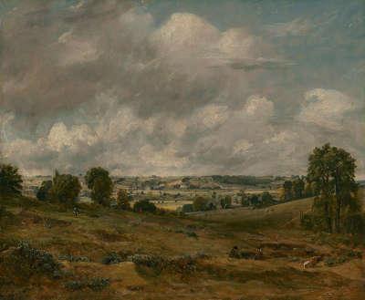Blick von East Bergholt auf Dedham Vale