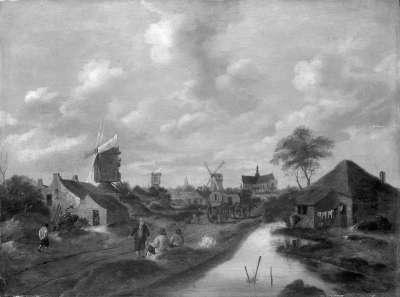Landschaft bei Haarlem