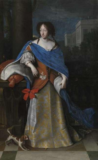 Bildnis der Henriette Adelaide von Savoyen, Gemahlin des Kurfürsten Ferdinand Maria von Bayern