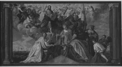 Votivbild des Dogen Sebastiano Vernier (nach Veronese)