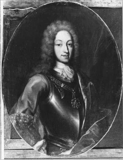 Carl Emanuel Victor, König von Sardinien (oval)