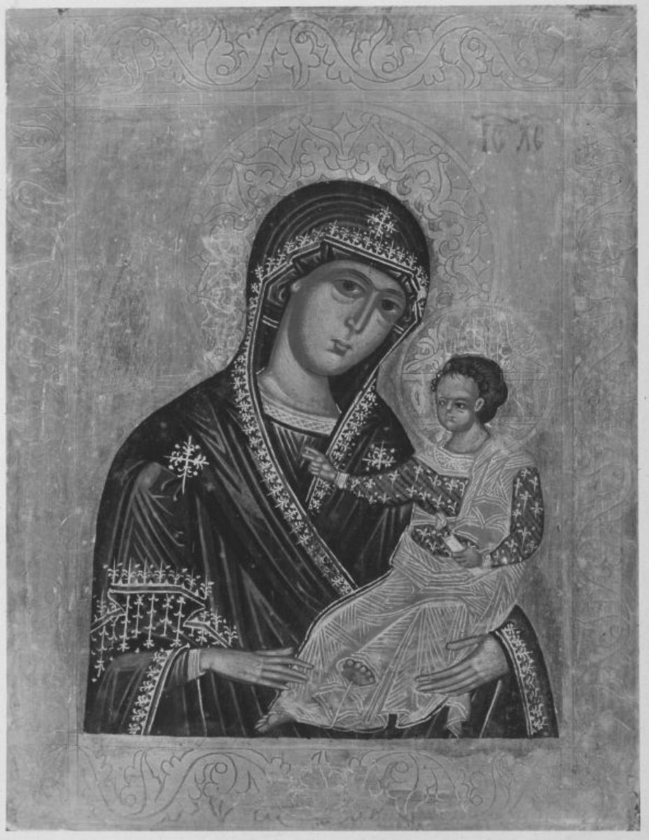 Maria mit Kind (Epitaph Oswald von Straubing)