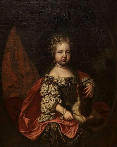 Kinderbildnis der Maria Elisabeth, Tochter des Kaisers Leopold I.