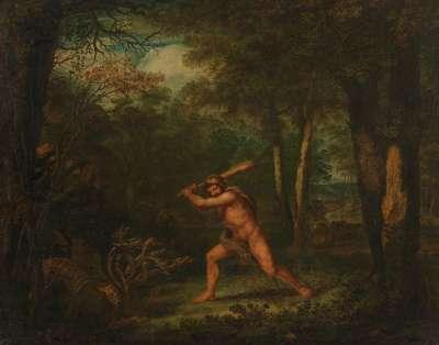 Kampf des Herkules mit der Hydra