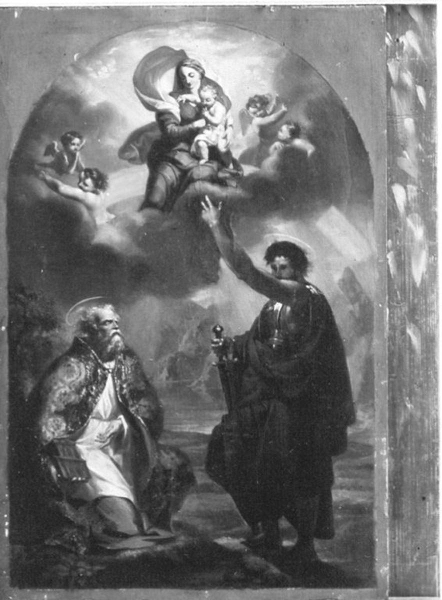 Muttergottes mit den hl. Gordianus und Epimachus
