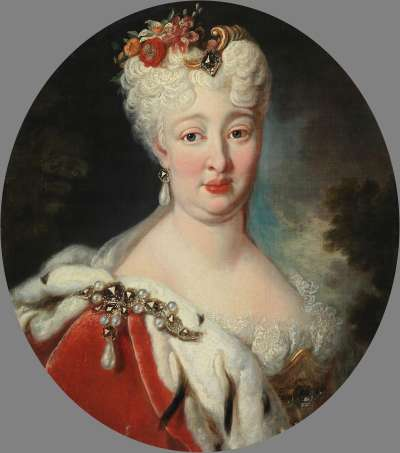 Bildnis der Pfalzgräfin Elisabeth Auguste Sophie (1693 - 1728)