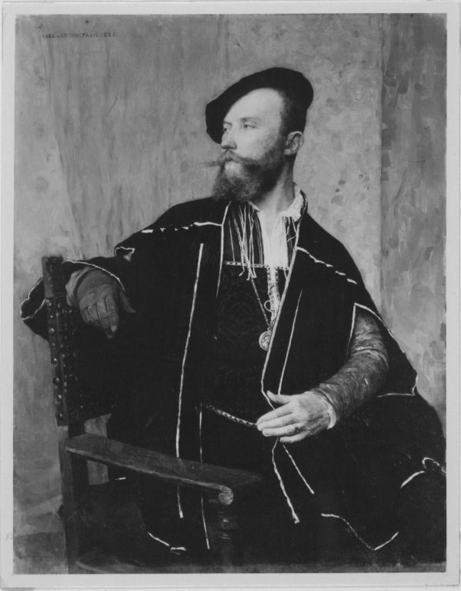 Der Maler Gustav Courtois