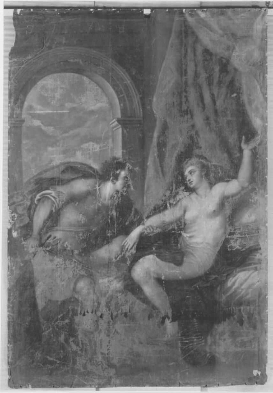 Lucretia und Tarquinus