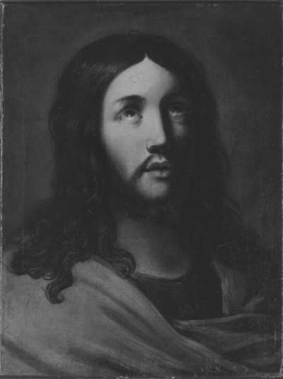 Emporblickender Christus