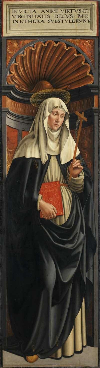 Hochaltar von Santa Maria Novella: Hl. Katharina von Siena
