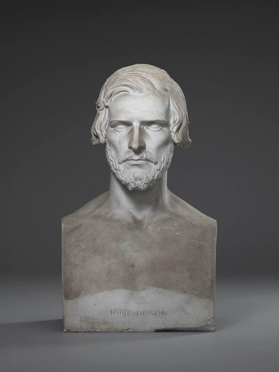 Der Bildhauer John Gibson (1790 - 1866)