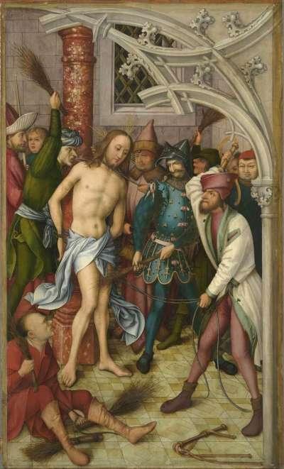 Kaisheimer Altar: Geißelung Christi