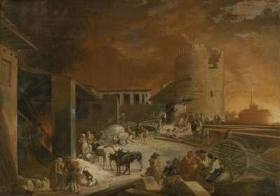 Ein römischer Kalkofen