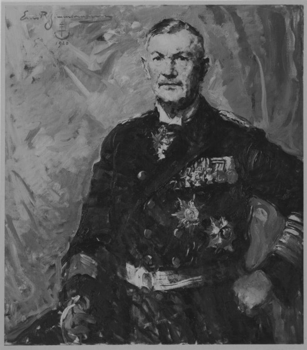 Bildnis Admiral Scheer