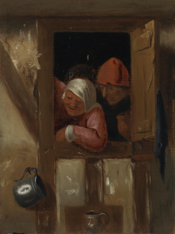 Holländisches Bauernpaar