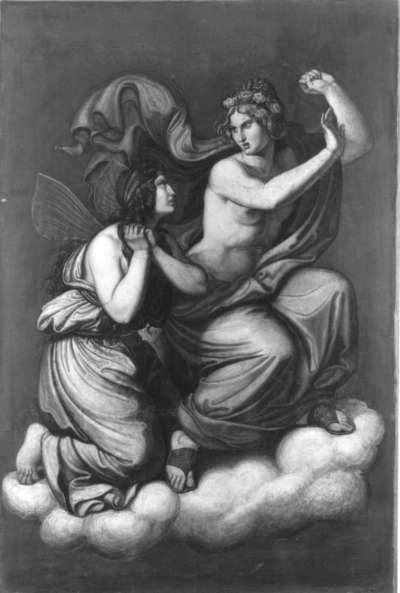 Das Märchen von Amor und Psyche: Psyche vor Venus